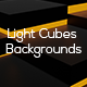 Light Cubes Backgrounds - GraphicRiver Item for Sale