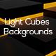 Light Cubes Backgrounds