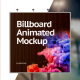 Billboard Animated Mockup - GraphicRiver Item for Sale