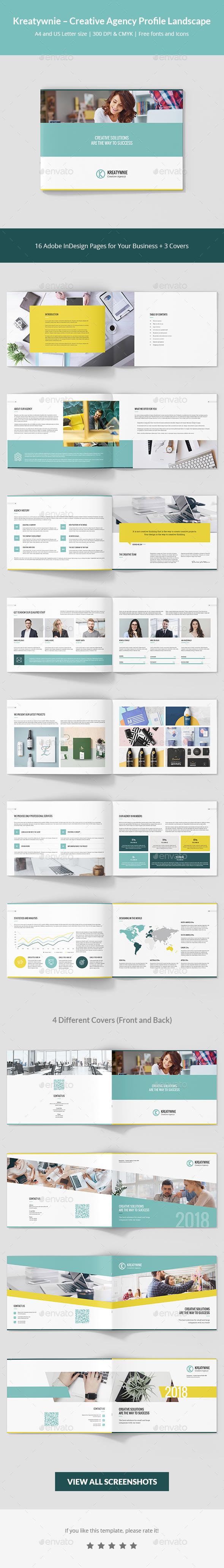 Kreatywnie  Creative Agency Profile Landscape