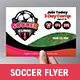 Soccer Camp Flyer Template - GraphicRiver Item for Sale