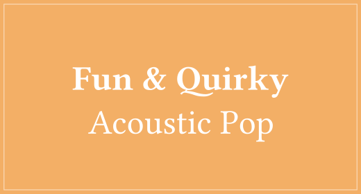 Fun & Quirky Acoustic Pop