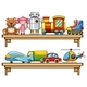 Many Toys on the Shelves - GraphicRiver Item for Sale