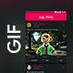 GIF Sharing Social Media App UI Kit | GIF World - GraphicRiver Item for Sale