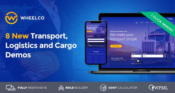 Wheelco - Cargo, Transport & Logistics - Business Corporate