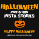 Halloween Invitation Insta Stories - VideoHive Item for Sale