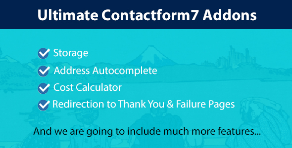 Ultimate Contact Form 7 Addons Pack            Nulled