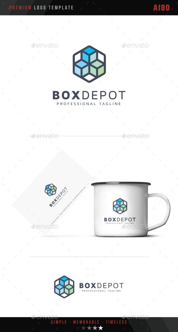 Box Depot Logo - Abstract Logo Templates