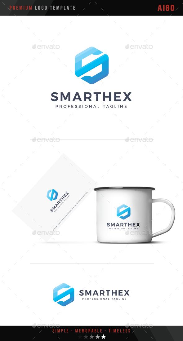 Smart Hex Logo - Symbols Logo Templates