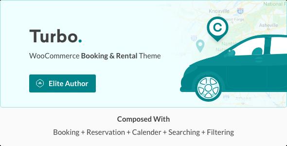 Turbo - WooCommerce Rental & Booking Theme - WooCommerce eCommerce