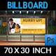 Junior School Education Billboard Banner Template - GraphicRiver Item for Sale