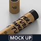 Paper Tube Mockup - Slim Long Size - GraphicRiver Item for Sale