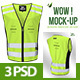 Safety T-shirt Mock-up - GraphicRiver Item for Sale