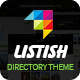 List-ish Directory WordPress Theme - ThemeForest Item for Sale
