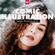 Comic Illustration | Photo Template - GraphicRiver Item for Sale