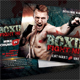 Boxing Postcard - GraphicRiver Item for Sale