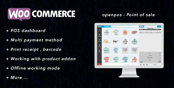 Openpos - A complete POS plugins for Woocomerce            Nulled