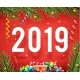 New Year 2019 Symbol Icon Confetti Ribbons - GraphicRiver Item for Sale
