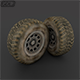 "Wheel "" Low Poly "" - 3DOcean Item for Sale"