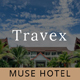 Free Download Travex _ Hotel and Resort Muse Template Nulled