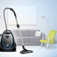 Realistic Vacuum Cleaner Interior Illustration