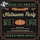 Halloween Party Invitation / Flyer V23 - GraphicRiver Item for Sale