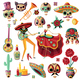 Mexican Day of Dead Set - GraphicRiver Item for Sale
