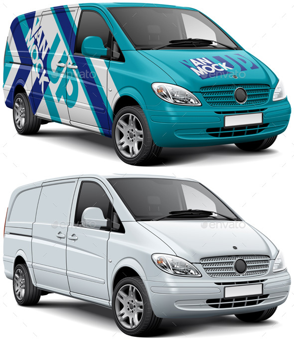 Vehicle Wrap Mockups From GraphicRiver