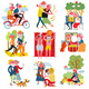 Elderly People Cartoon Set - GraphicRiver Item for Sale