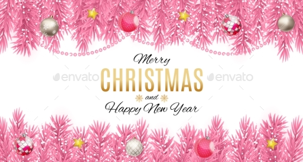 Merry Christmas and New Year Background - Christmas Seasons/Holidays