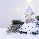 Christmas tree on snow - PhotoDune Item for Sale