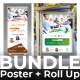 Conference Bundle (Poster+Roll Up Banner) - GraphicRiver Item for Sale