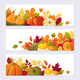 Set of Autumn Banners - GraphicRiver Item for Sale