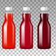 Glass Bottles With Juice - GraphicRiver Item for Sale