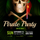 Pirate Party Realistic Poster - GraphicRiver Item for Sale