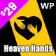 Heaven Hands- Non-Profit Charity & Fundraising WordPress Theme - ThemeForest Item for Sale