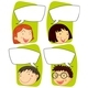Kids and Communication Signs - GraphicRiver Item for Sale