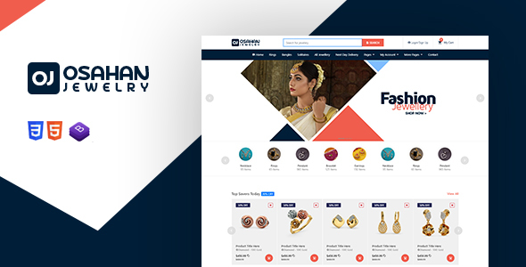 Osahan Jewelry - Bootstrap4 Responsive Jewelry Light Template