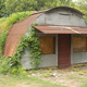 Curved Roof Rusted Metal Shack Abandoned Simply House - PhotoDune Item for Sale