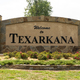 Big Stone Monument Sign Welcomes Travelers to Texarcana USA - PhotoDune Item for Sale