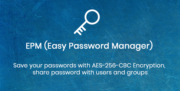 EPM - Easy Password Manager            Nulled