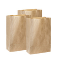 recycle brown papers bags isolated on white background - PhotoDune Item for Sale