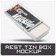 Rectangular Tin Box Mock-Up - GraphicRiver Item for Sale