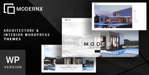 Modernx - Architecture & Interior WordPress Theme