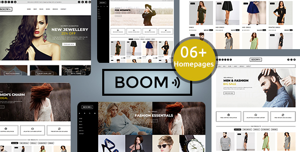 Boom – Fashion and accessories shopify theme