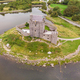Aerial View of Dunguaire Castle in Ireland - PhotoDune Item for Sale