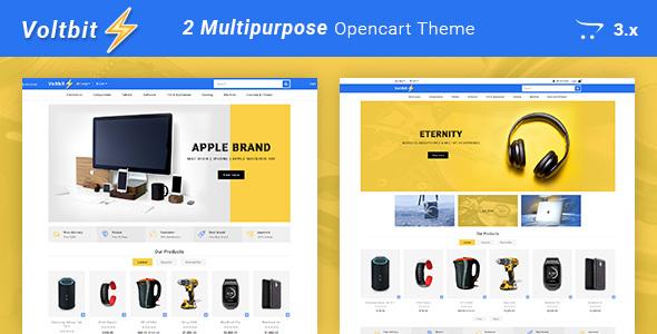 Voltbit - Multipurpose Responsive Opencart 3 Theme - OpenCart eCommerce