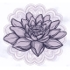 Vector Lotus Flower Ethnic Art - GraphicRiver Item for Sale