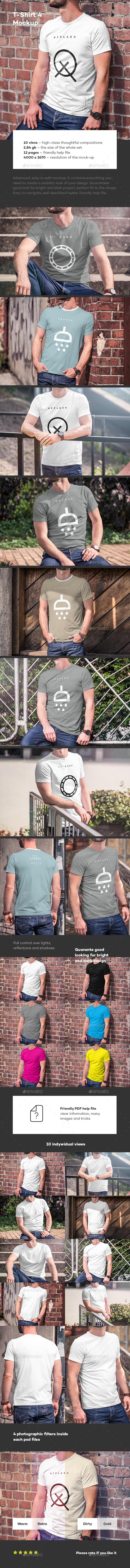 T-Shirt Mock-up 4