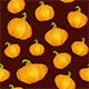 Dark Seamless Background with Pumpkins for Thanksgiving Day - GraphicRiver Item for Sale